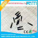 Tag de vidro animal da cápsula de 134.2kHz RFID com a seringa Sterilized para o seguimento animal