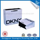 One Color Imprimé Blanc Papier Kraft Panier Main Carry Bag