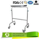 Carretilla del tratamiento de hospital con las tinas de los cajones (CE/FDA/ISO)