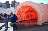 Tunnel gonflable de côlon de qualité pour le film publicitaire