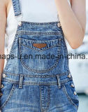 Moda de alta calidad Blue Ripped Jeans Denim Monos