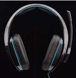 Auriculares profissionais gama alta do jogo com Mic