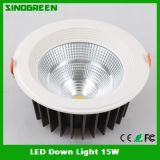 새로운 High Quality LED Down Light 15W
