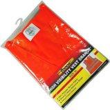 OEM anaranjado de los productos de la seguridad del XL del chaleco de la seguridad