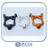 Piezas de aluminio anodizadas, piezas que muelen del CNC, el trabajar a máquina del CNC de la precisión