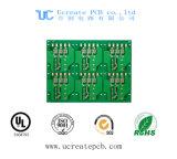 Grüne Lötmittel-Schablone gedruckte Schaltkarte für Kühlraum mit HASL