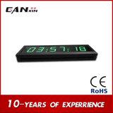 """Часы времени крытых СИД [Ganxin] часов высокого качества 1.8 """" электронные"""