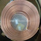 Kupferne Rohr-einlagige Pfannkuchen-Spulen-kupfernes Gefäß