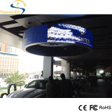 Shenzhen-heiße neue Produkte für gebogene Bildschirm-Bildschirmanzeige 2016 Fabrik-Preis RGB-flexibles LED Zeichen