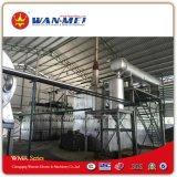 Pianta di riciclaggio dell'olio residuo tramite Distillation ed il processo di pirolisi di catalisi per produrre combustibile diesel