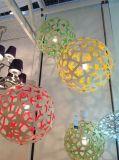 Lampade Pendant di legno della sfera decorativa dell'interno