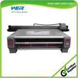 Stampante UV a base piatta di grande formato approvato di stampa di iso del CE di Wer-ED2514UV