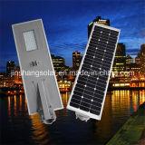 高品質(太陽JINSHANG)の1つの太陽LEDの街灯の保証5年の50With60Wすべて