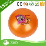 Bola impresa bola animosa inflable del PVC de la bola de la bola de salto de la bola del juguete del PVC