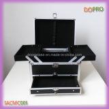 Schwarze ABS Oberflächen-expandierbarer Verfassungs-Träger-Aluminiumkasten (SACMC005)