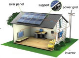 painel 300W solar Grid-Connected/sistema energia solar para a HOME