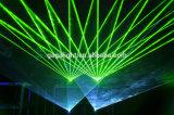 Lumière laser polychrome de l'animation RGB12000