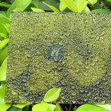 Feuille de diamant de relief par PC ondulé de polycarbonate