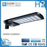 Der Hangzhou-LED StraßenlaterneDatenbahn-Licht-Fertigung-280W LED