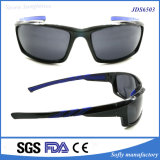 Uomini dell'obiettivo polarizzati plastica di alta qualità che ciclano gli occhiali da sole correnti