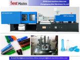 Modelação por injeção manual plástica da pré-forma da garrafa de água que faz a máquina