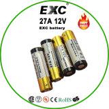 bateria alcalina super de 12V 27A com a bateria seca da alta qualidade