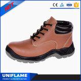 Het Roze Leer Ufa083 van de Schoenen van de Veiligheid van de Vrouwen van de fabriek