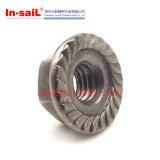 DIN1667 통용 토크 All-Metal 육 플랜지 로크 너트
