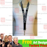 Client LogoのID Card Holder Lanyard