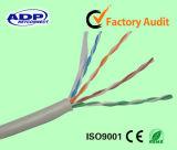 Passare a prova della passera 4 accoppiamenti di UPT Cat5e 0.51mm OFC cavo di rame di lan Netwworking di Ethernet