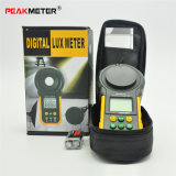 Medidor leve Pm6612L do verificador de Lumination do Luxmeter do diodo emissor de luz de Digitas