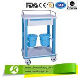 Тележка вагонетки стационара ABS медицинская для непредвиденный палаты (CE/FDA/ISO)