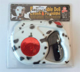 High Pulling LED Retractable Dog Leash with Torch 2016