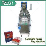 Sac de papier de valve entraînée par un moteur électrique complètement automatique avancée faisant la machine
