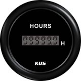 "2 "" 52mm Hour Meter Hour Gauge con Backlight per Car Boat"