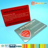 Высокий уровень безопасности чешет протектор RFID преграждая карточку