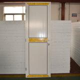 Portello di alluminio rivestito della stoffa per tendine della polvere bianca di colore Kz200 con il comitato di alluminio di piccola dimensione