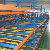 Shelving seletivo do racking da gravidade do armazenamento do Fifo