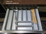 Alto armadio da cucina lucido UV del MDF (zh-6865)