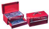 caixa da ferramenta da gaveta 153PC 2, jogo de ferramenta do auto reparo com ferramentas da combinação