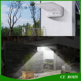 Éclairages extérieurs de jardin de DEL de mur de la lumière 16LED de lampe de mouvement de détecteur de degré de sécurité de lumière solaire populaire de nuit