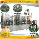 Máquina automática del relleno en caliente de la bebida de leche de la fruta