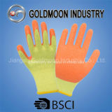 резьбы 10g 2 желтеют перчатку работы безопасности латекса вкладыша померанцовую