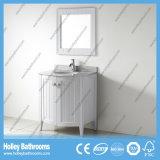 Muebles clásicos compactos vendedores calientes del cuarto de baño de madera sólida (BV205W)