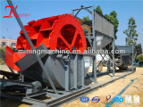 Compartimiento Wheel Sand Washer Equipment para Sand Making y Sand Washing
