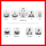 USB를 가진 보편적인 Travel Adapter Plug
