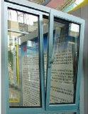 Thermique-Casser l'oscillation Windows de tissu pour rideaux alliage en aluminium/d'aluminium vers l'extérieur Bas-Arrêtée