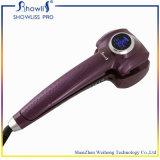 Encrespador de cabelo mágico automático do indicador do LCD