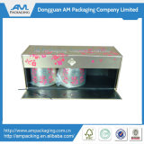 Rectángulos de empaquetado con bisagras del café de Cardbaord de la taza de papel del almacenaje de encargo