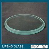 O vidro do dispositivo da iluminação do vidro Tempered com tamanho personalizou